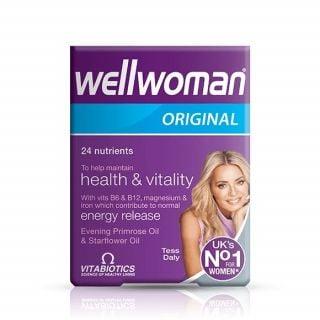 Vitabiotics Wellwoman Original 30 Tabs Πολυβιταμίνη για Γυναίκες