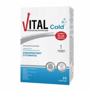 Vital Cold Vitamin C Plus Propolis 20 Caps