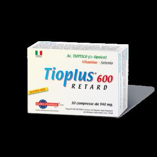 Bionat Tioplus 600 Retard 30 δισκία για Ανακούφιση των Συμπτωμάτων του Νευροπαθητικού Πόνου
