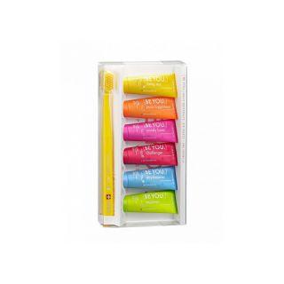 Curaprox Be You Ultra Soft 5460 Κίτρινη + Οδοντόκρεμες 6 x 10ml