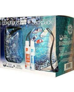 Intermed Luxurious Spray Αντιοξειδωτικό Αντιηλιακό με Βιταμίνη C SPF50+ 200ml & Ενυδατικό Νεφέλωμα με Υαλουρονικό Οξύ 200ml & Δώρο Καλοκαιρινό Σακκίδιο Πλάτης