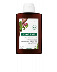 Klorane Quinine Σαμπουάν για Ενδυνάμωση & Τριχόπτωση με Κινίνη και Βιολογικό Εντελβάις