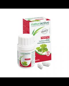 Naturactive Γκίνγκο 60 Caps Συμπλήρωμα Διατροφής για ενίσχυση της Μνήμης
