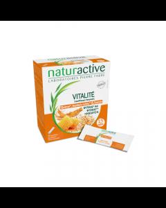 Naturactive Vitalite 15 φακελίσκοι Συμπλήρωμα διατροφής για άμεση τόνωση, ενέργεια & ευεξία