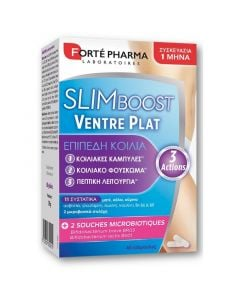 Forte Pharma SlimBoost Ventre Plat Συμπλήρωμα Διατροφής για Επίπεδη Κοιλιά