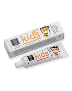 BestPharmacy.gr - Photo of Apivita Toothpaste Kids 2+ Pomegranate & Propolis