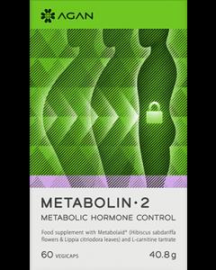 Agan Metabolin 2 Metabolic Hormone Control 60 Vegicaps Συμπλήρωμα Διατροφής για την Εξισορρόπηση των Μεταβολικών Ορμονών