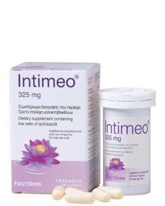 Frezyderm Intimeo® 325mg 14 Καψάκια Συμπλήρωμα Διατροφής με Ζώντα Στελέχη Γαλακτοβακίλλων