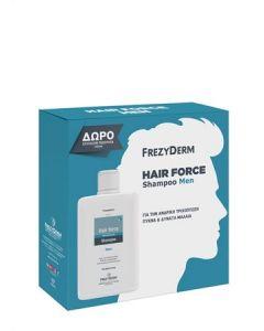 Frezyderm Hair Force Shampoo for Men 200ml Ανδρικό Σαμπουάν για την Τριχόπτωση + ΔΩΡΟ Επιπλέον Ποσότητα 100ml
