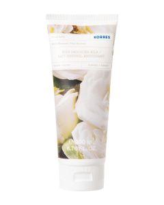 Korres Body Smoothing Milk White Blossom 200ml Ενυδατικό Γαλάκτωμα Σώματος Λευκά Άνθη