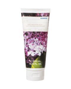 Korres Body Smoothing Milk Lilac 200ml Ενυδατικό Γαλάκτωμα Σώματος Πασχαλιά