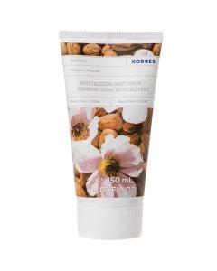 Korres Revitalizing Body Scrub Resurface & Glow Almond 150ml Αναζωογονητικό Scrub Σώματος Αμύγδαλο