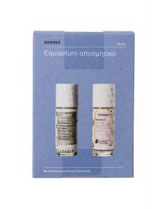 Korres Promo Equisetum 48h Deodorant 30ml Αποσμητικό με Άρωμα + Equisetum 24h Deodorant 30ml Αποσμητικό για Αποτριχωμένες Επιδερμίδες