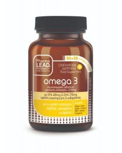 PharmaLead Omega 3 90κάψουλες Συμπλήρωμα Διατροφής Ωμέγα 3