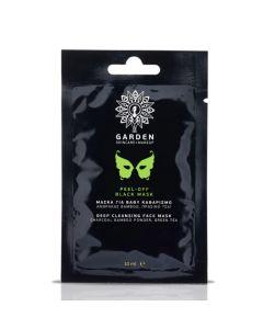 Garden Peel-Off Black Mask 10ml Μάσκα για Βαθύ Καθαρισμό