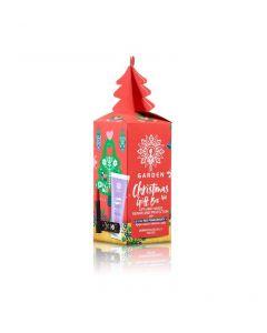 Garden Christmas Gift Box No2 Ενυδατικό Lip Balm Ρόδι Κόκκινο & Kρέμα Χεριών Πλούσιας Υφής 30ml