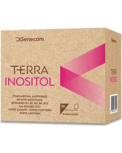 Genecom Terra Inositol 30x6gr Ρυθμίζει την Λειτουργία των Ωοθηκών