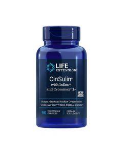 Life Extension Cinsulin With Glucose Management 90 Caps Ρύθμιση Σακχάρου