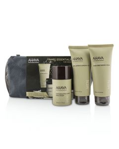 Ahava Travel Essentials For Men Set