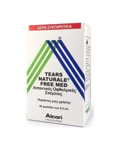 Alcon Tears Naturale Free Med