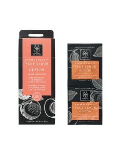 Apivita Express Beauty Gentle Exfoliation Scrub Apricot 2 x 8ml