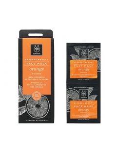 Apivita Express Beauty Face Mask Orange 2 x 8ml