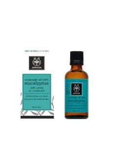 Apivita Eucalyptus Massage Oil 50ml