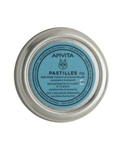 BestPharmacy.gr - Photo of Apivita Pastilles Eucalyptus & Propolis