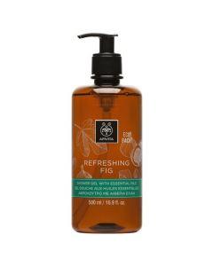 Apivita Eco Pack Refreshing Fig Shower Gel 500ml