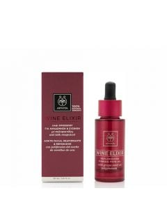 Apivita Wine Elixir Replenishing Firming Face Oil 30ml