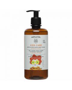 Apivita Eco Pack Kids Hair & Body Wash Tangerine & Honey 500ml