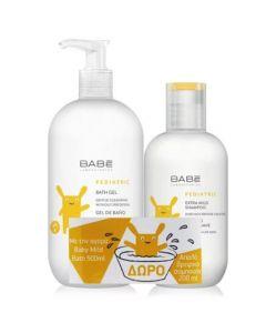 Babe Pediatric Bath Gel 500ml + Extra Mild Shampoo 200ml