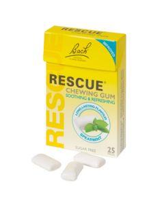 Bach Rescue Chewing Gum 25 Τμχ Τσίχλες με ανθοϊάματα Rescue Bach & Γλυκαντικά