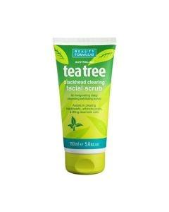 Beauty Formulas Tea Tree Facial Scrub 150ml