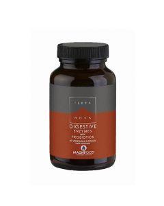Terranova Digestive Enzyme Complex with Probiotics 50 Caps