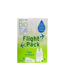 Bausch and Lomb Biotrue Flight Pack