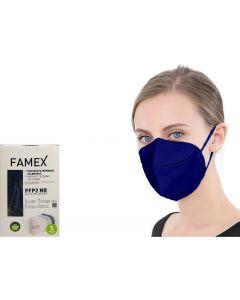 Famex FFP2 Μπλε 10τμχ Μάσκα Προστασίας