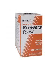 Health Aid Brewers Yeast Μαγιά 500 Tabs