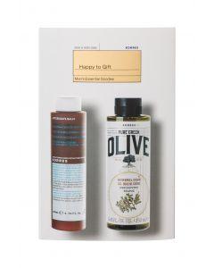Korres set pure greek olive after shave