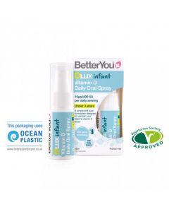 BetterYou DLux Infant Vitamin D Daily Oral Spray 15ml Βιταμίνη D3 για Νεογνά, Βρέφη και Παιδιά έως 3 Ετών
