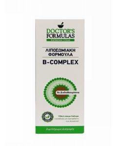Doctor's Formulas B-Complex 150ml Σύμπλεγμα Βιταμινών B Λιποσωμιακή Φόρμουλα, Πόσιμο Διάλυμα