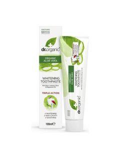 Dr. Organic Aloe Vera Toothpaste (Whitening) 100ml