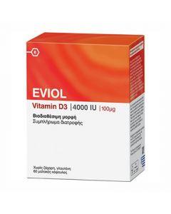 Eviol Vitamin D3 4000IU