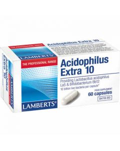 BestPharmacy.gr - Photo of Lamberts Acidophilus Extra 10 60 Caps