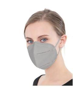 Famex FFP2 Γκρι 10τμχ Μάσκα Προστασίας
