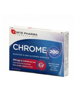 Forte Pharma Chrome 200 30 Tabs