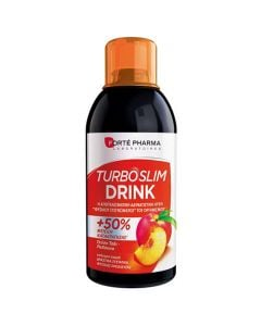 Forte Pharma Turboslim Drink Green Tea - Peach 500ml