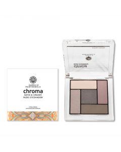 Garden Chroma Satin & Creamy Nude Eyeshadow No1 6gr