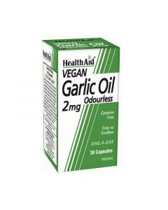 Health Aid Garlic Oil 2mg 30 Caps Έλαιο Σκόρδου