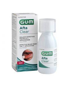 Gum Afta Clear Mouthrinse 120ml